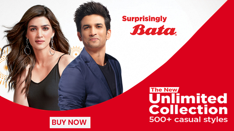 Bata Power Shoes - Express your style with pocket-friendly power shoes