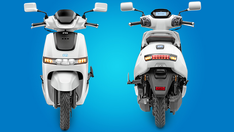 TVS iQube Electric Scooter - TVS Motor