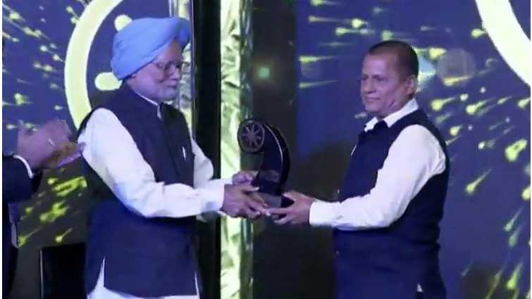 Change Maker award to Dr. Achyuta Samanta