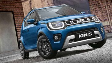 Maruti Suzuki Ignis facelift launch in India with BS6 Compliant Petrol Engine