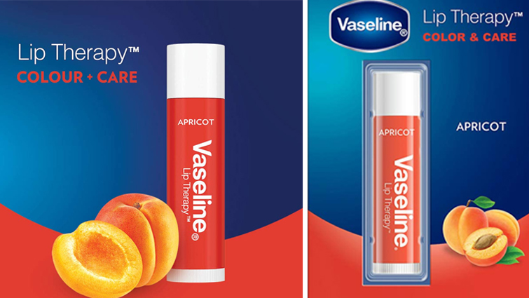 Vaseline Lip Color and Care Apricot