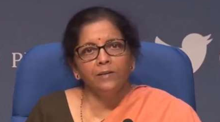 FM Nirmala Sitharaman announces relief package for poor