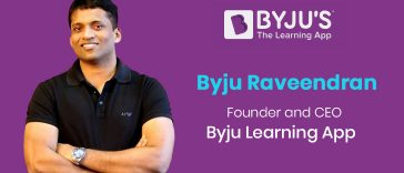 Byju Raveendran - Founder and CEO of Byju Learning App
