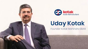 Uday Kotak - Founder of Kotak Mahindra Bank