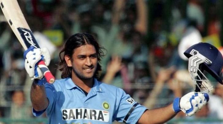 MS Dhoni in World Cup