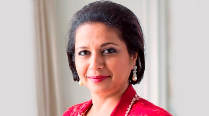 Priya-Paul - The-chairperson of Park Hotel