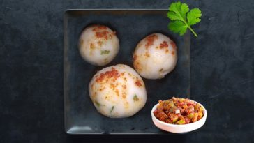 Steamed Rice Flour Balls