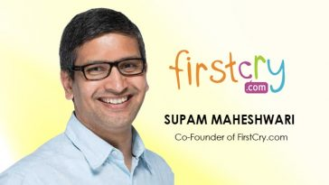 Supam Maheshwari - FirstCry