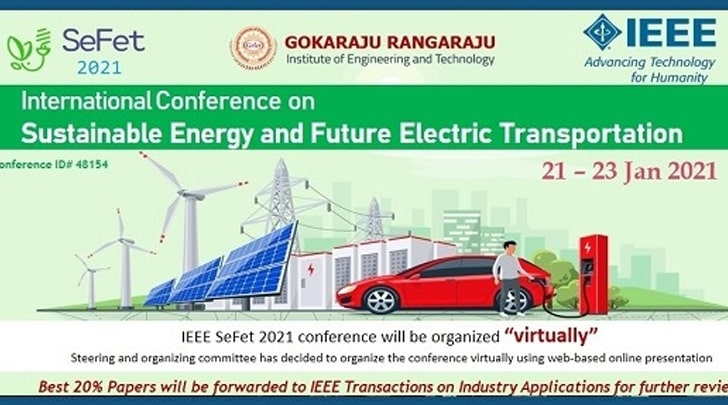 International Conference on Sustainable Energy and Future Electric Transportation