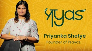 Priyanka Shetye - Founder of Prayas - A mom and entrepreneur