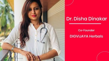 Dr. Disha Dinakar - co-Founder of DIGVIJAYA Herbals