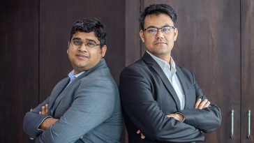 Varun Jain, Co-Founder , Director & CEO & Ravi Kumar, Co-Founder & Director , Upcurve Business Services Pvt. Ltd