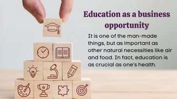 Education as a business opportunity