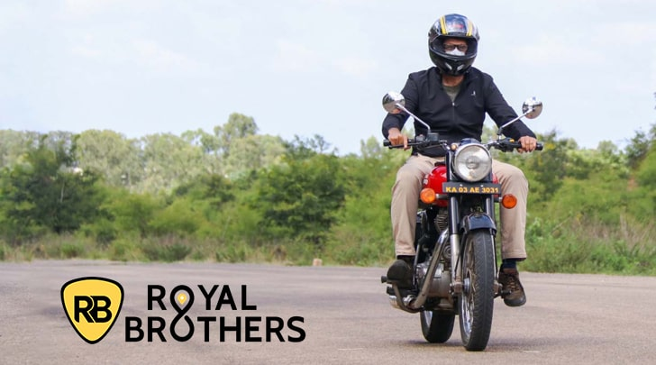 Royal Brothers - Bike Rental Service