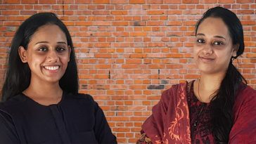 Shaiba and Shabana - co-founder of Maneraa