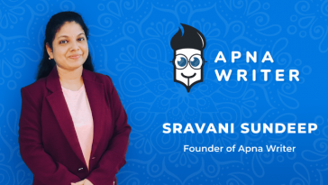 Sravani Sundeep - Woman Entrepreneur - founder of Apna Writer