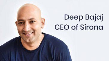 Deep Bajaj - social entrepreneur & CEO of Sirona