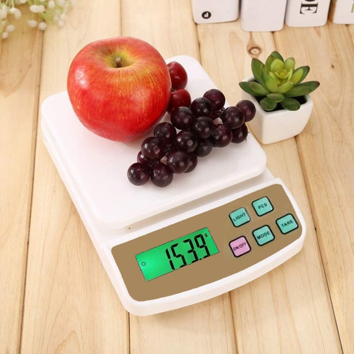 MIDMART Electronic Kitchen Weighing Scale