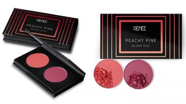 RENÉE Cosmetics Peachy Pink Blush Duo