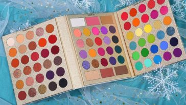 UCANBE Pretty All Set Eyeshadow Palette Holiday Gift Set