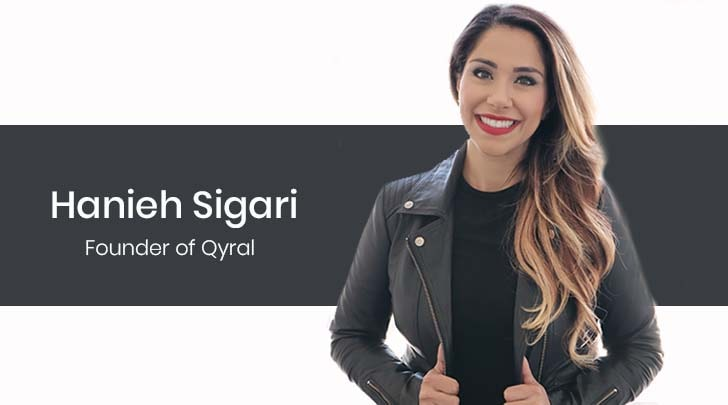 Hanieh Sigari - founder of Qyral