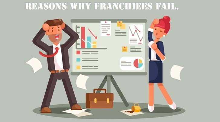 Reasons why franchisees fail