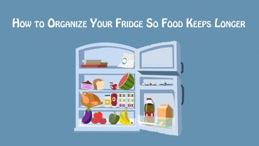 How to Organize Your Fridge So Food Keeps Longer