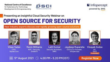 WEBINAR ON OPEN SOURCE FOR SECURITY