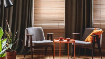 curtain and blinds