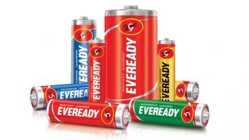 Eveready portable batteries